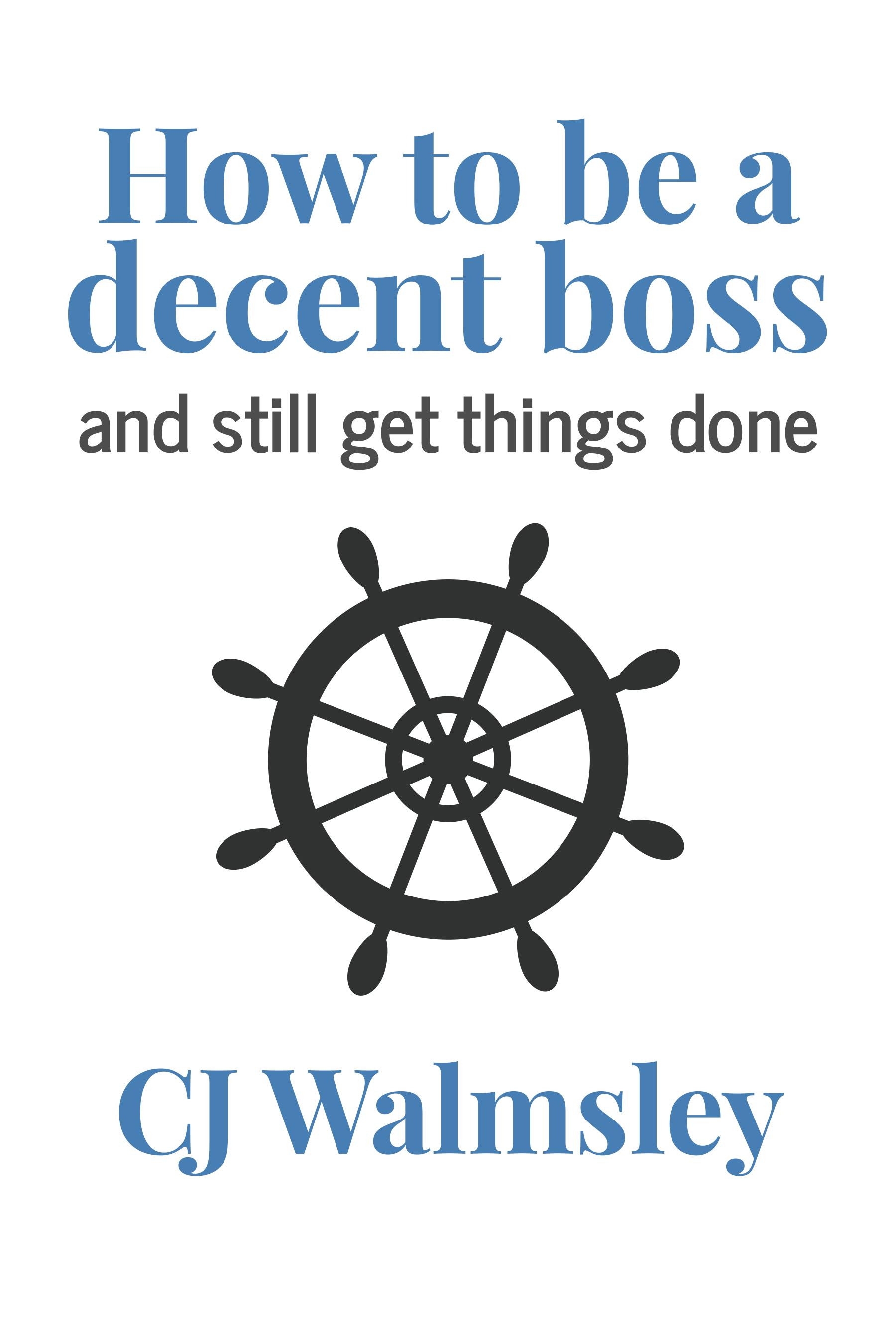 Decent Boss Cover FINAL